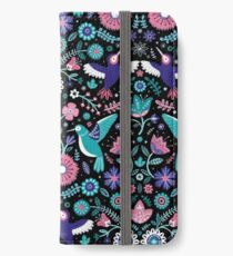 hummingbird garden 2 iPhone Wallet