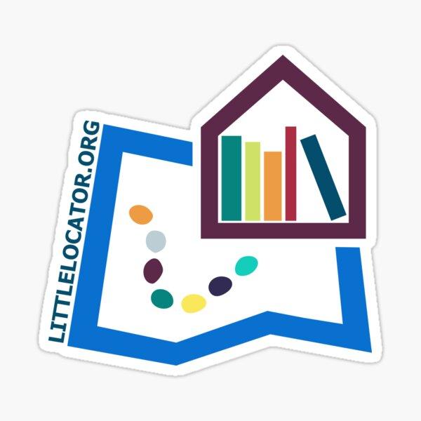 Little Locator - Color Icon Sticker