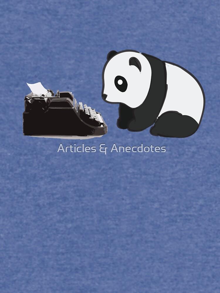 Typewriter Panda by meichi