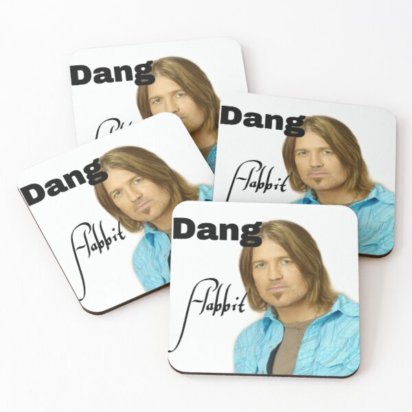 Dang Flabbit Coasters (Set of 4)