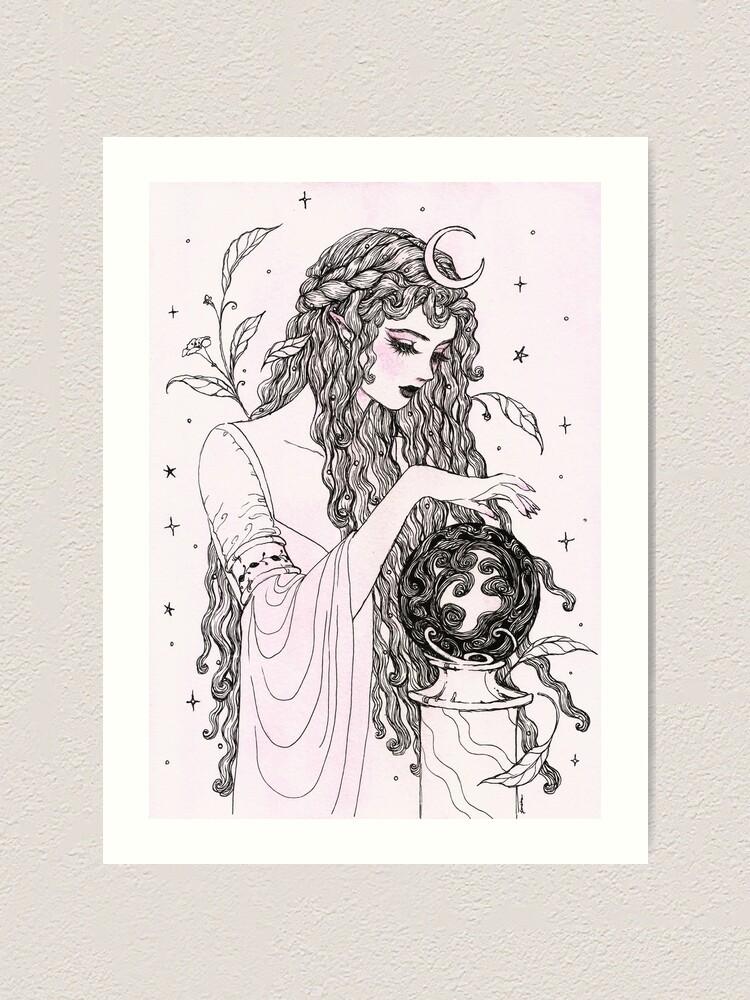 Alternate view of Crystal Ball Art Print