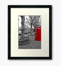Red Telephone Box Framed Print