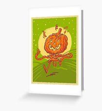 Pumpkin Chum Greeting Card
