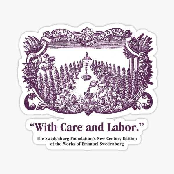 NCE With Care and Labor Sticker