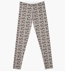 Dusty flowers Leggings