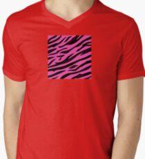 Animal background pattern - pink tiger skin texture. Background texture of pink tiger skin T-Shirt