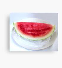 Watermelon Summer Canvas Print