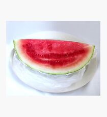 Watermelon Summer Photographic Print