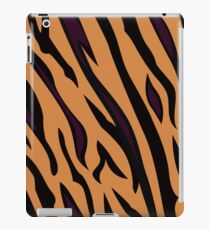 Animal background pattern - tiger skin texture. Background texture of tiger skin iPad Case/Skin