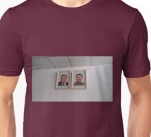 Portraits of the North Korean Leaders Unisex T-Shirt