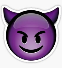 Devil Emoji Sticker