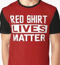 STAR TREK - RED SHIRT LIVES MATTER Graphic T-Shirt