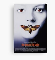 Silence of The Lambs Canvas Print