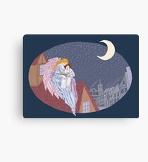 Bedtime Story Canvas Print