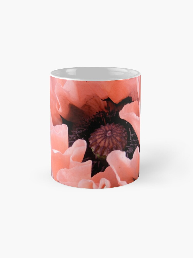 Alternate view of PINK POPPY FLOWER PETALS Mug