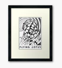 Flying Lotus Dead Man's Tetris Framed Print