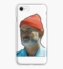 Bill Murray as Steve Sizzou  iPhone Case/Skin