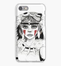 Pen ink Mononoke iPhone Case/Skin