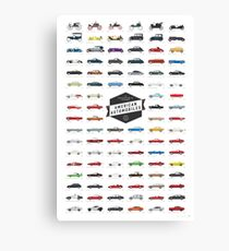 AMERICAN AUTOS Canvas Print