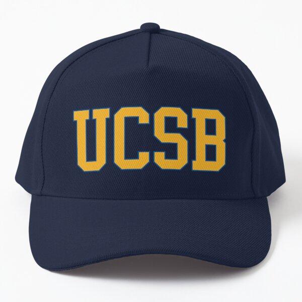 ucsb - college font Baseball Cap