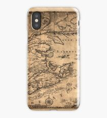 Map Of Nova Scotia 1776 iPhone Case