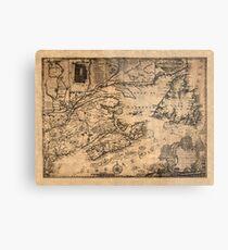 Map Of Nova Scotia 1776 Metal Print