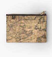 Map Of Nova Scotia 1776 Studio Pouch