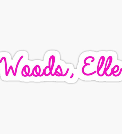 Woods, Elle Sticker