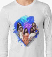 Fifth Harmony 7/27 Blue Long Sleeve T-Shirt