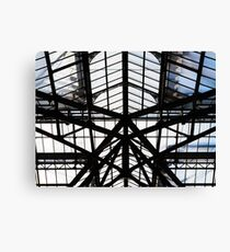 Structure / Liverpool Street Station Canvas Print