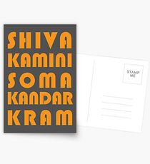 Shivakamini Somakandarkram #2 Postcards