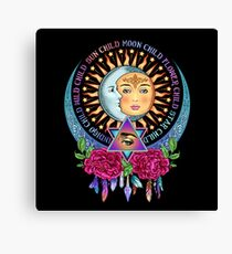 Star Child Wild Child - Full Color Canvas Print