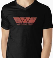 Weyland Corp - Distressed Red T-Shirt