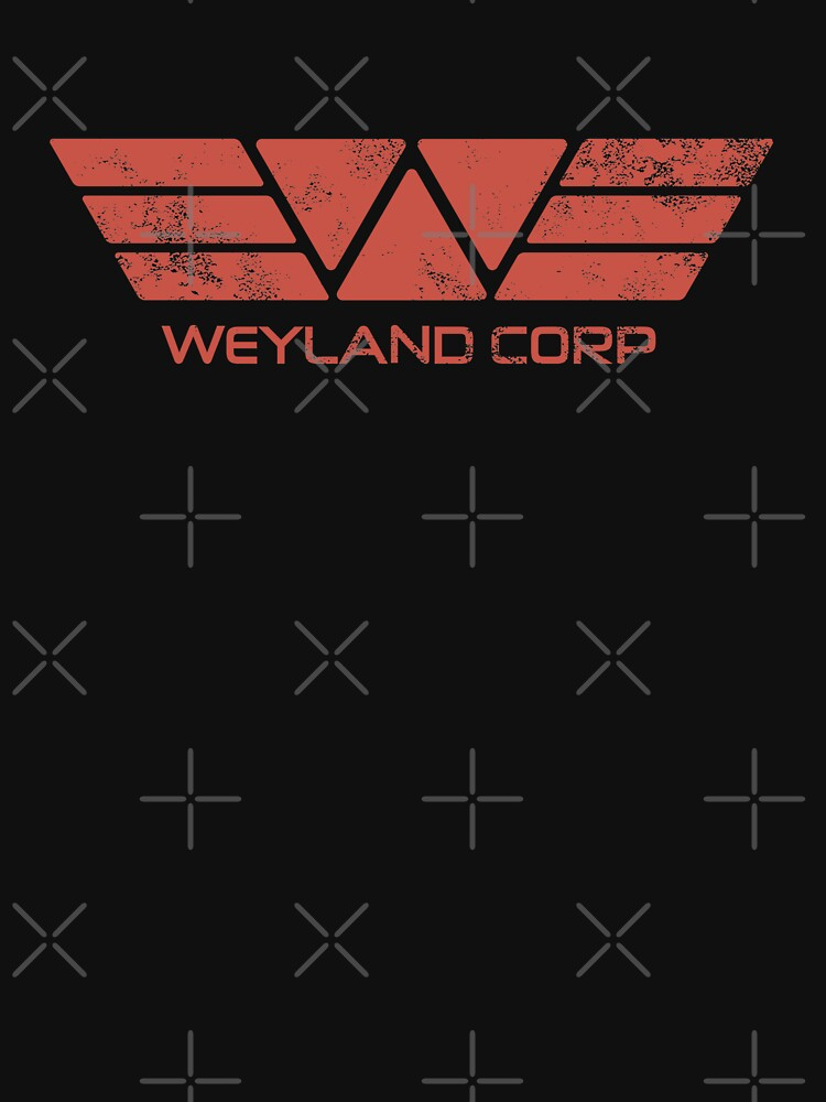 Weyland Corp - Distressed Red | Women's T-Shirt