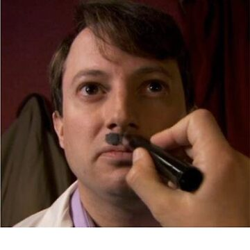 PEEP SHOW DAVID MITCHELL CHAIRMAN MARK HITLER by MRedfern
