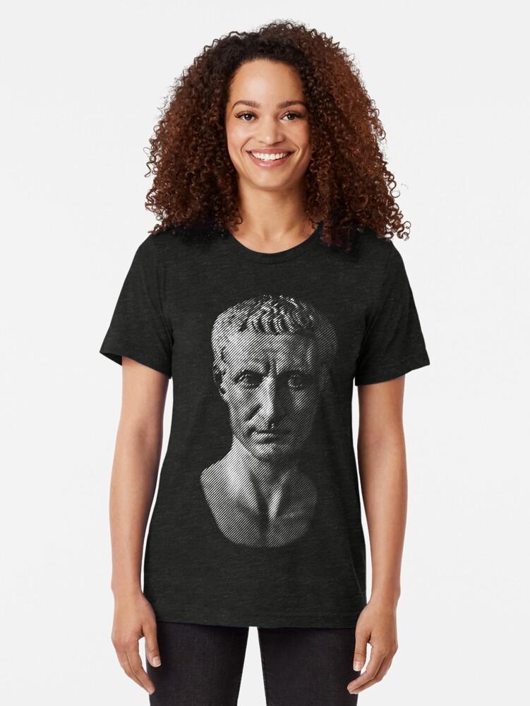 Alternate view of Gaius Julius Caesar Tri-blend T-Shirt