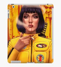 Uma Thurman Kill Fiction iPad Case/Skin