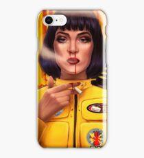 Uma Thurman Kill Fiction iPhone Case/Skin