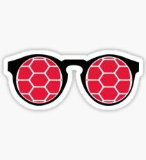Pegatina UMD Terp Glasses