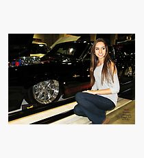 Outshines the show cars. Photographic Print
