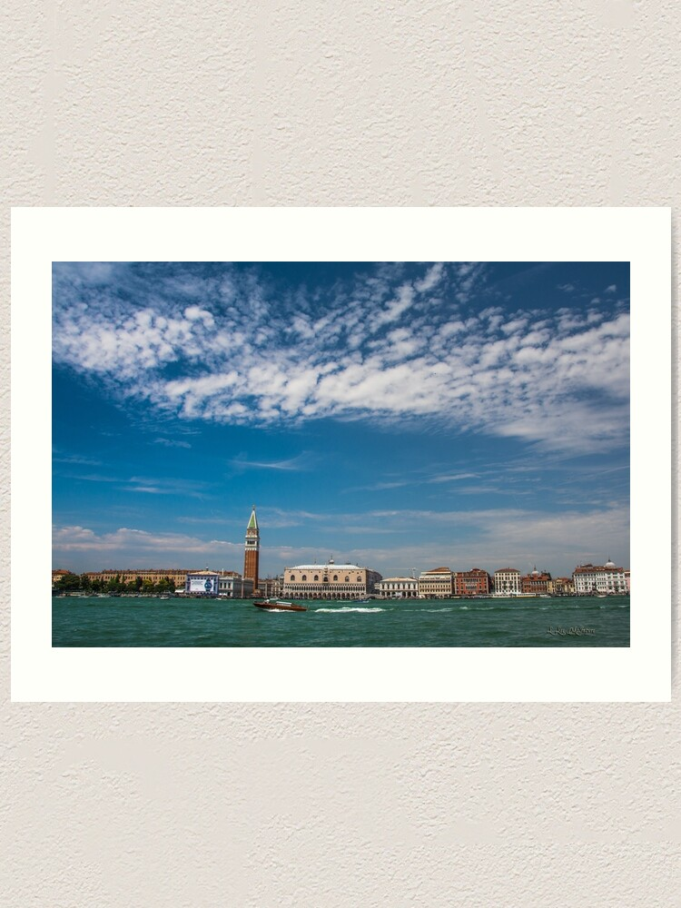 Alternate view of Venice, Italy (Special Edition Series) Art Print