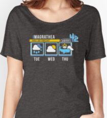 Magrathea 5-Day Forecast Relaxed Fit T-Shirt
