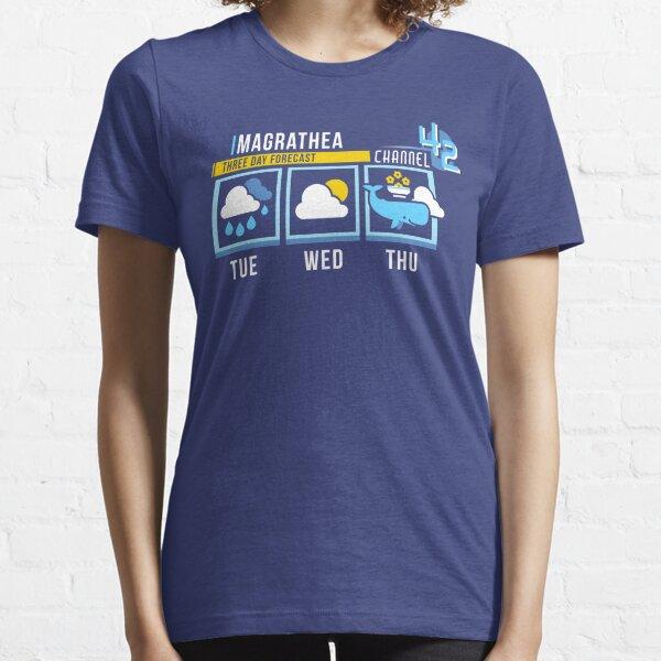 Magrathea 5-Day Forecast Essential T-Shirt