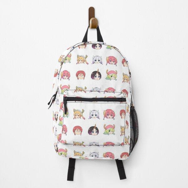 Miss Kobayashi's Dragon Maid Chibi Heads Backpack