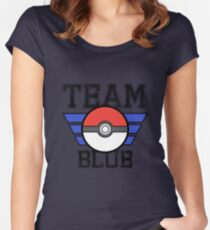 Team BLUE! Women's Fitted Scoop T-Shirt
