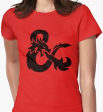 DND Womens Fitted T-Shirt