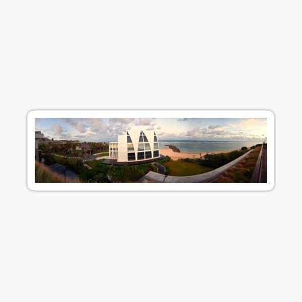 Majestic Chapel panorama Sticker
