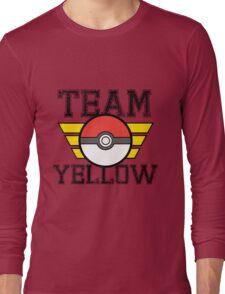 Team YELLOW! Long Sleeve T-Shirt