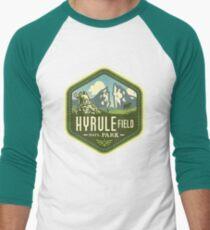 Camiseta ¾ bicolor para hombre Parque Nacional Hyrule