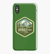 Hyrule National Park iPhone Case/Skin
